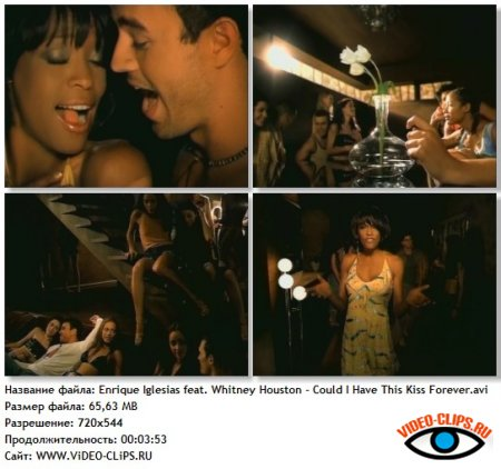 Enrique Iglesias feat. Whitney Houston - Could I Have This Kiss Forever