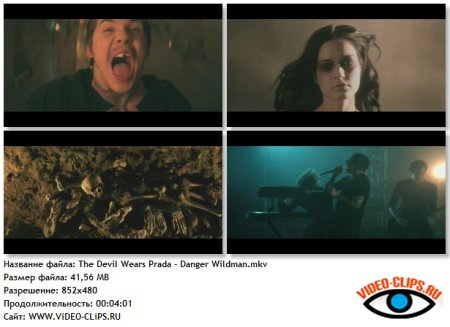 The Devil Wears Prada - Danger: Wildman
