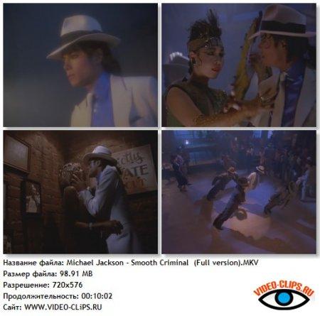 Michael Jackson - Smooth Criminal (Full Version)